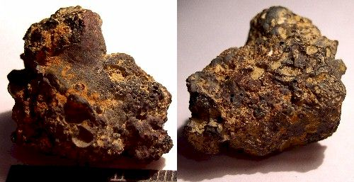 Iron Slag Artifact from Dave Gillilan Cache
