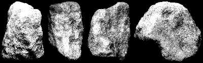 Human Head Figure - Artifact from Day's Knob Archaeological Site