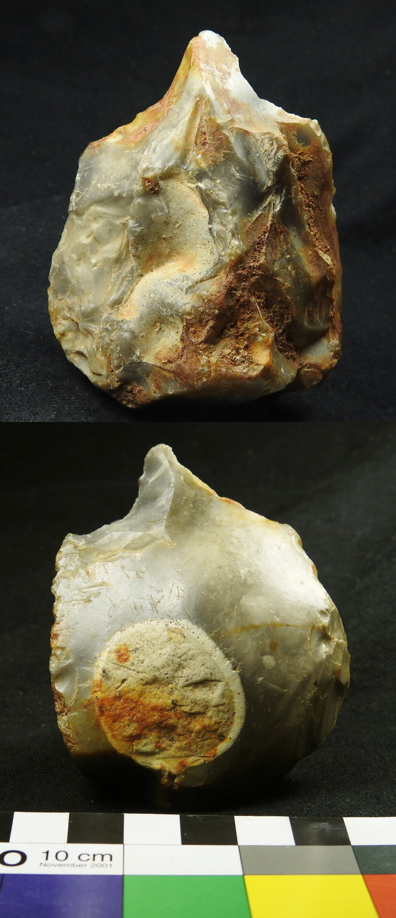Palaeolithic Flint Pick, Groß Pampau, Northern Germany