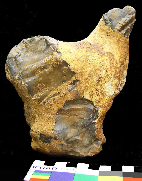 Flint Bird Figure, Groß Pampau, Northern Germany