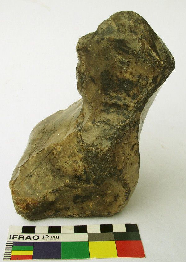 "Flint ""Stargazer"" Figure, Groß Pampau Artifact, Northern Germany"